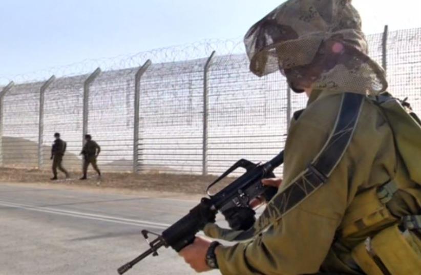 Israel ups security level along Egypt's Sinai border (photo credit: screenshot)