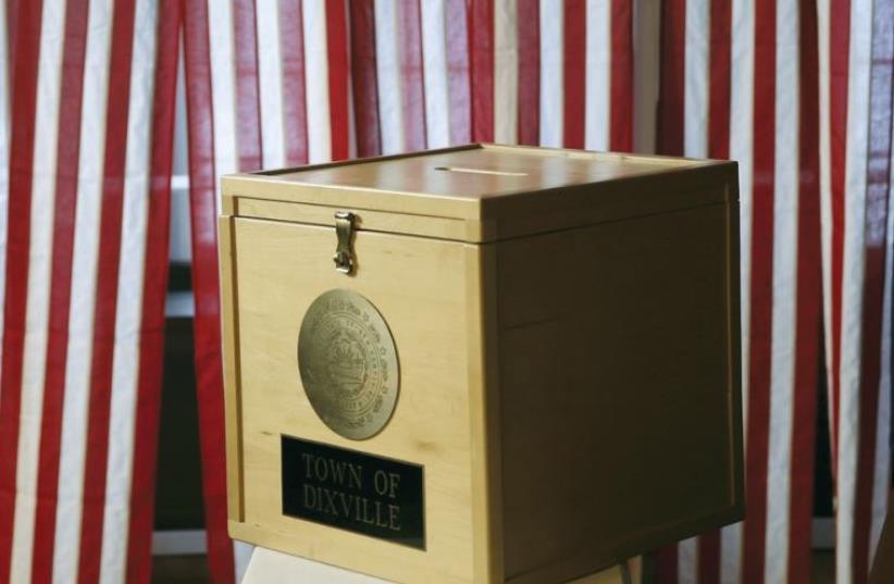 US elections (photo credit: REUTERS)
