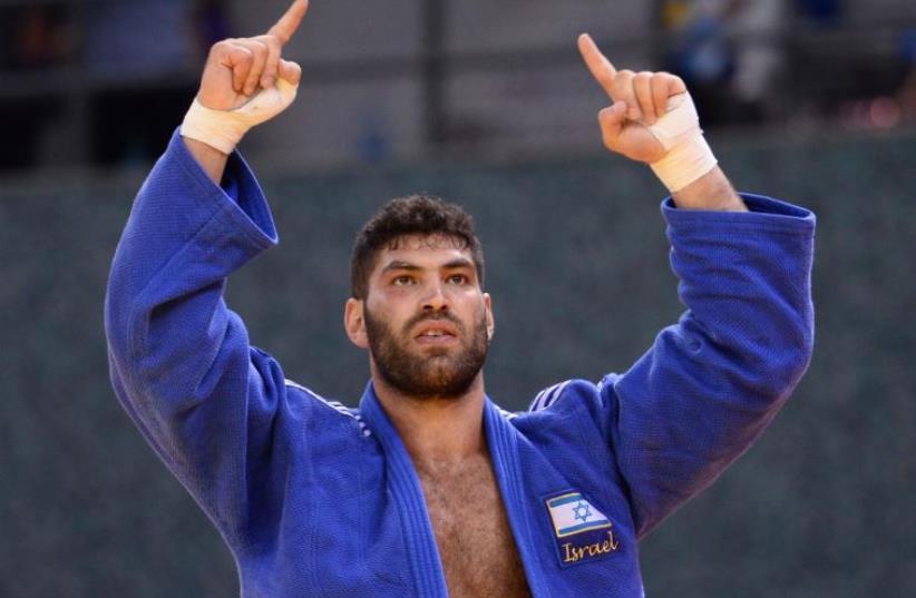 Israeli judoka Or Sasson  (photo credit: (OLYMPICS COMMITTEE OF ISRAEL/COURTESY))