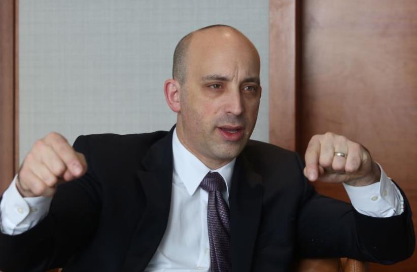 Anti-Defamation League CEO and National Director Jonathan A. Greenblatt  (photo credit: MARC ISRAEL SELLEM)
