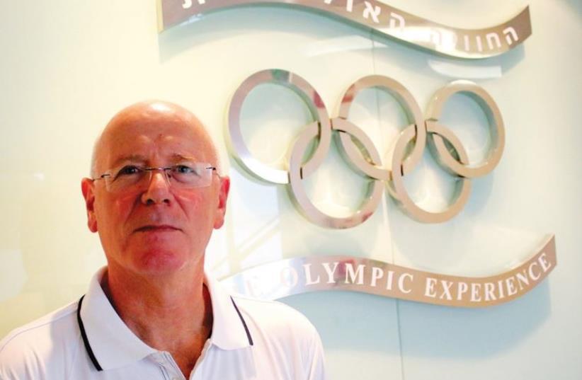 Olympic Committee of Israel Secretary General Gili Lustig (photo credit: ADI AVISHAI)