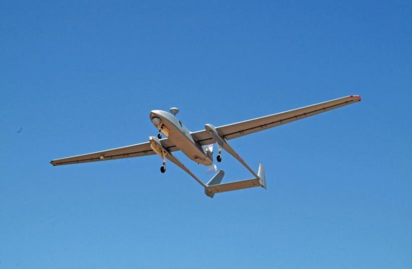 Israel Aerospace Industries Heron drone  (photo credit: IAI)