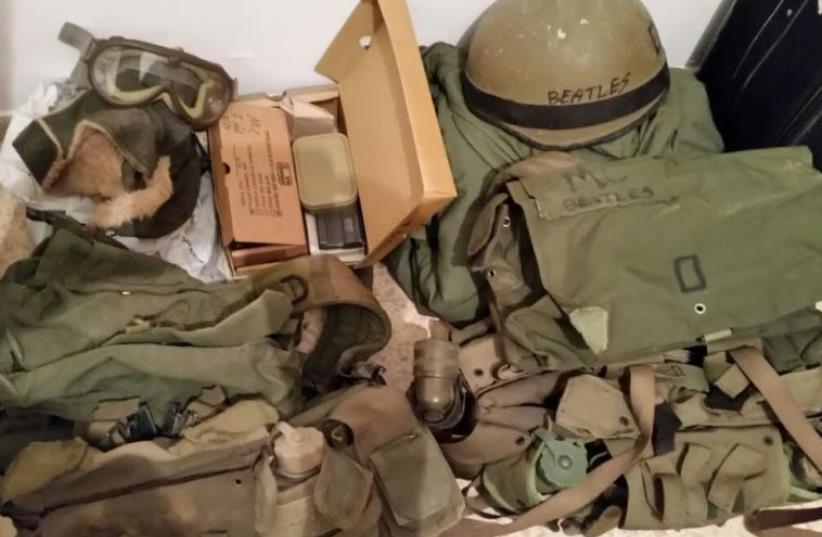 IDF gear. (photo credit: IDF SPOKESMAN'S UNIT)