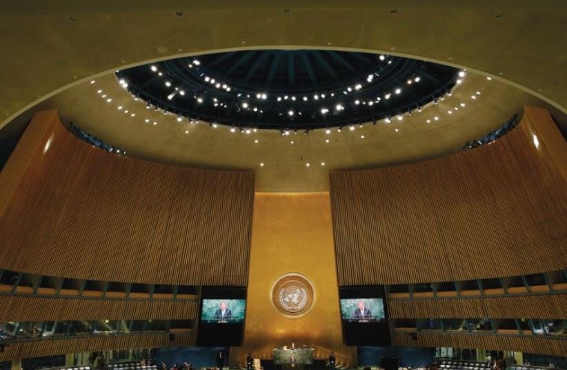 THE UNITED Nations General Assembly. (photo credit: REUTERS)