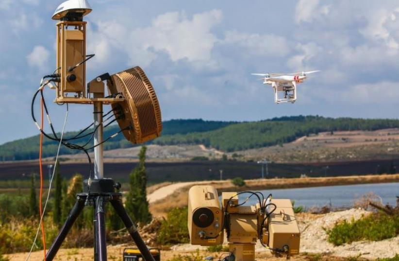 Rafael Advanced Defense Systems's Drone Dome (photo credit: Courtesy)