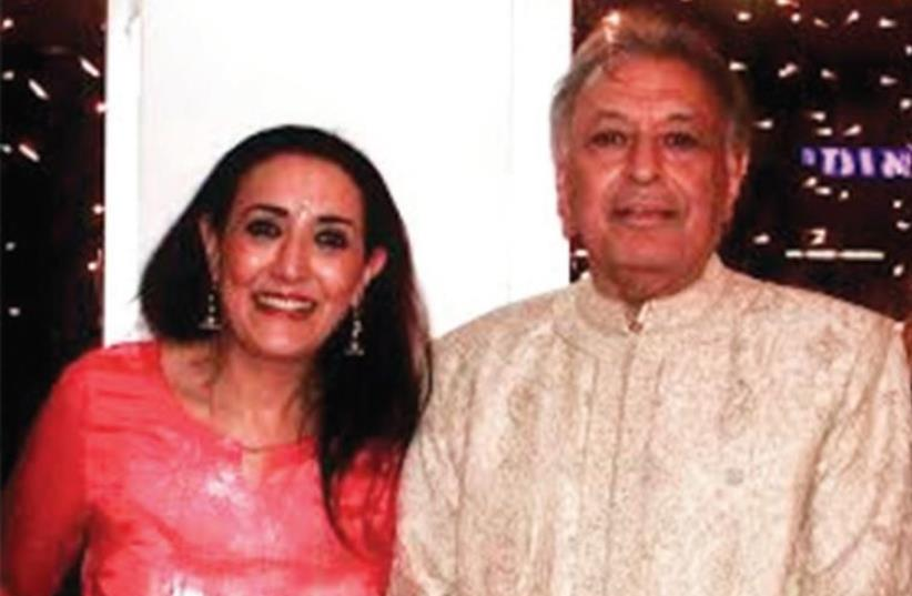 REENA PUSHKARNA with Zubin Mehta at his 80th birthday party, which she hosted with her husband, Vinod. (photo credit: Courtesy)