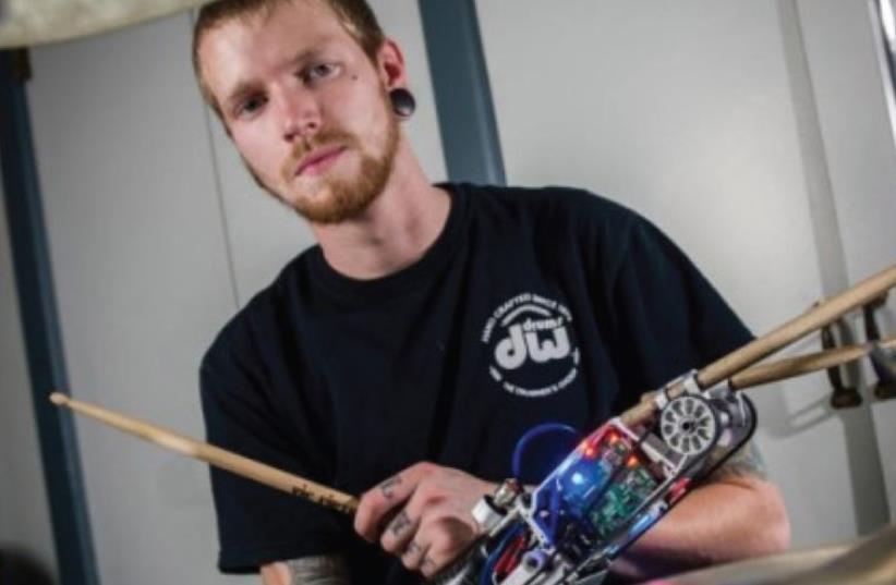 Cyborg drummer Jason Barnes (photo credit: PR)