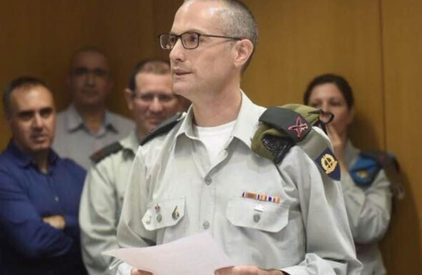IDF Brig.-Gen. Sharon Afek (photo credit: IDF SPOKESPERSON'S UNIT)