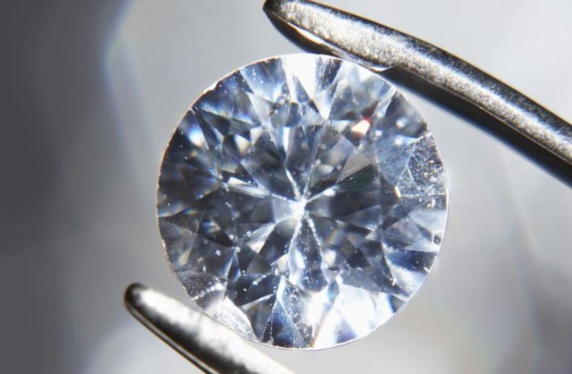 Diamond (illustrative) (photo credit: INGIMAGE)