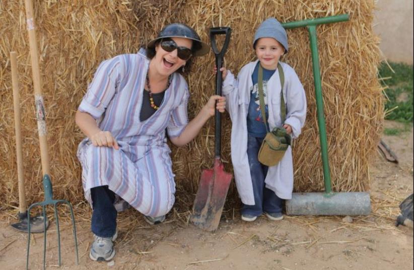 Mizpe Gvulot in the Negev (photo credit: PR)