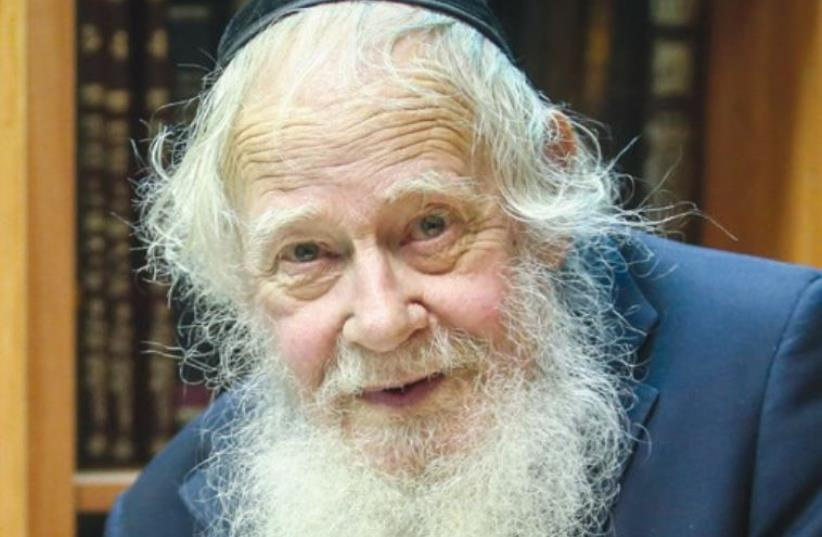 RABBI ADIN STEINSALTZ (photo credit: MARC ISRAEL SELLEM)