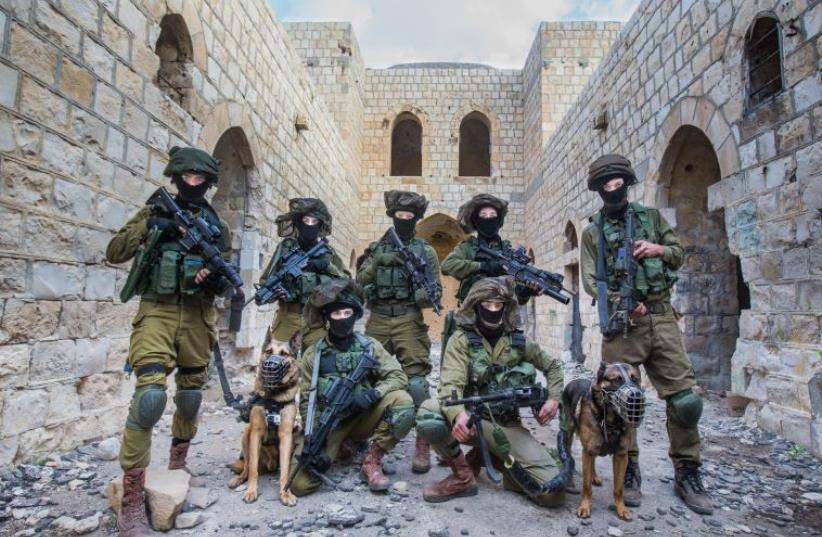 Israeli commandos complete military exercises in central Israel (photo credit: IDF SPOKESPERSON'S UNIT)
