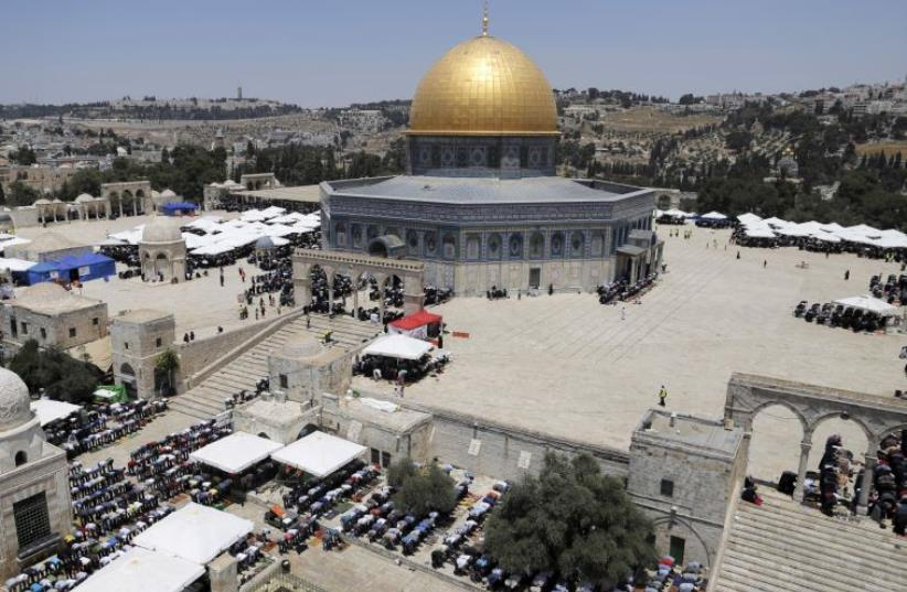 The Temple Mount complex in Jerusalem  (photo credit: REUTERS)