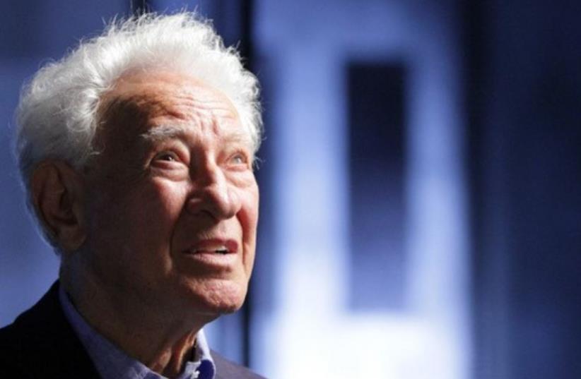 Martin Gray, an author and Polish-born Holocaust survivor (photo credit: TWITTER)