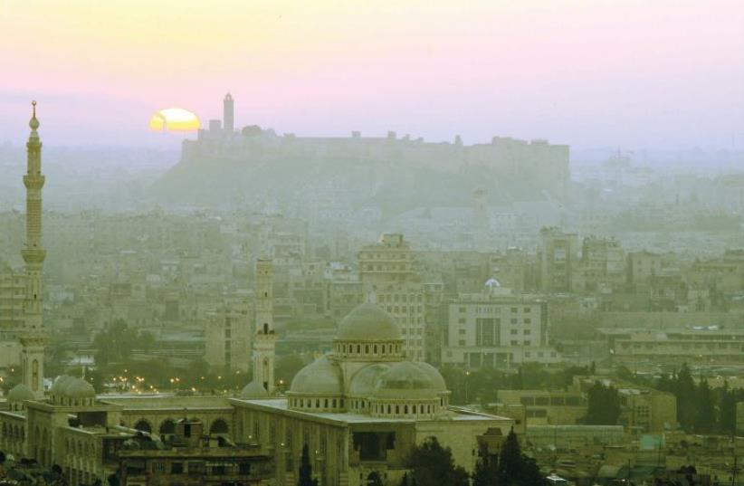 A general view of Aleppo in 2006 – a city now reduced to rubble (photo credit: REUTERS)