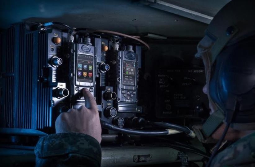 Elbit's MCTR-7200 system, a member of the company's software defined radio family (photo credit: ELBIT)