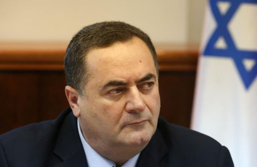 Intelligence Services Minister Israel Katz (photo credit: MARC ISRAEL SELLEM)