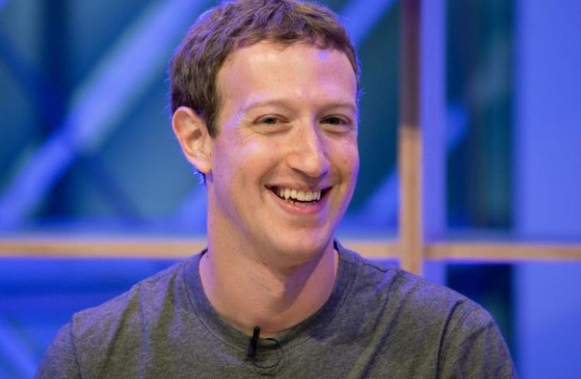 Facebook founder and CEO Mark Zuckerberg (photo credit: AFP PHOTO)
