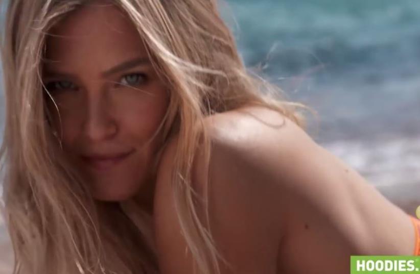 Hoodies summer 2016 commercial featuring Bar Refaeli (photo credit: screenshot)