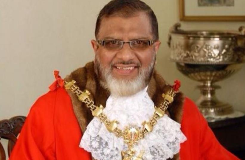 Former Blackburn mayor Salim Mulla (photo credit: FACEBOOK)