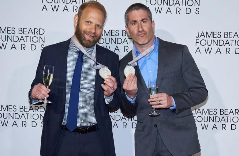 Michael Solomonov (right) and Steven Cook (photo credit: KENT MILLER STUDIOS)