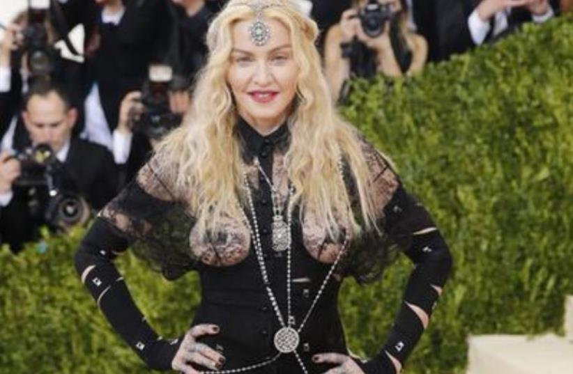 Madonna (photo credit: EDUARDO MUNOZ / REUTERS)