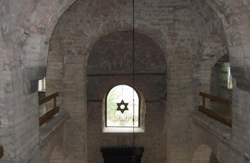 The old Sephardi Synagogue and Jewish Museum in Sarajevo. (photo credit: LIAT COLLINS)