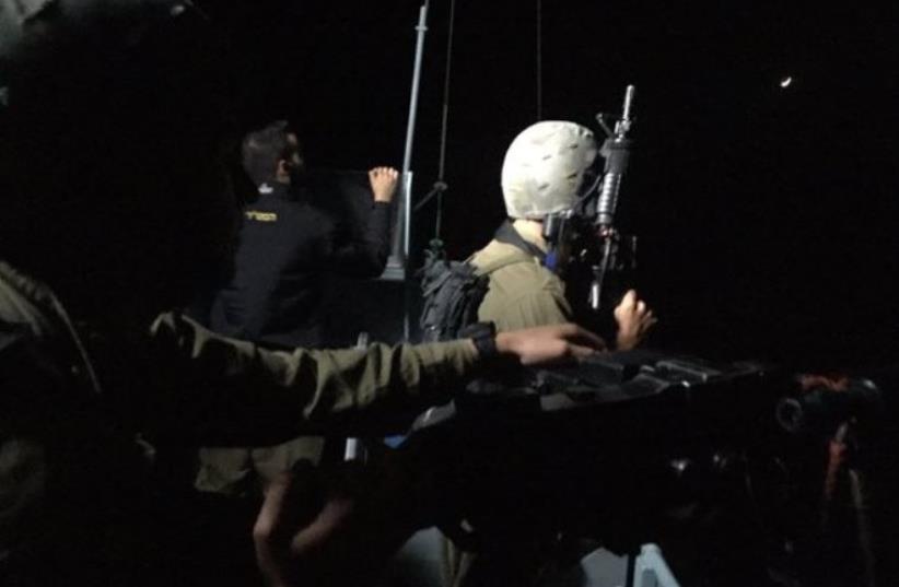 IDF conducting security exercise  (photo credit: SETH J. FRANTZMAN)