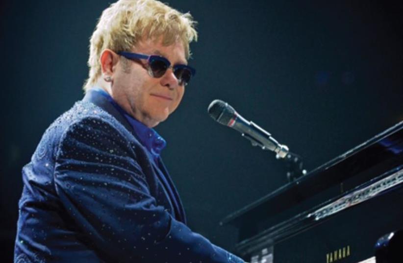 Elton John (photo credit: ANDREW POTTER)