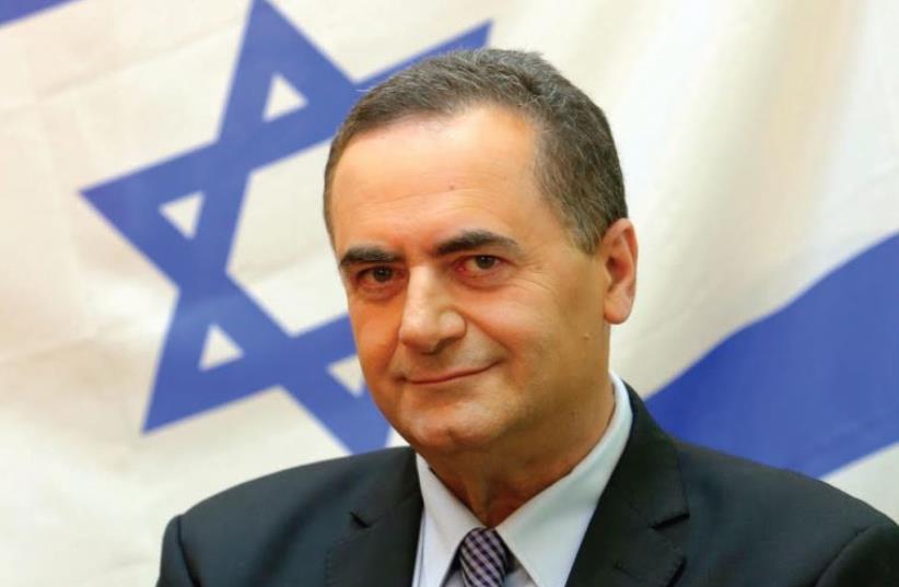 Israel Katz (photo credit: MARC ISRAEL SELLEM)