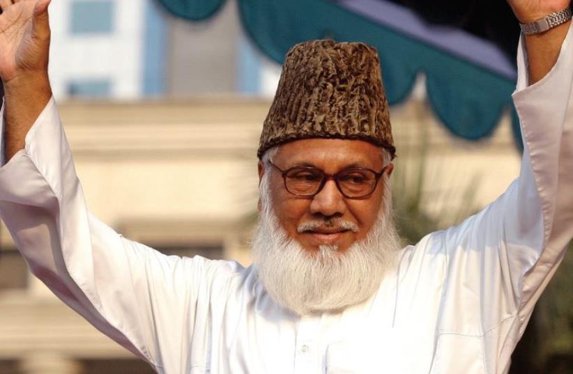 The vendetta of the Bangladeshi government: Motiur Rahman Nizami (photo credit: REUTERS)