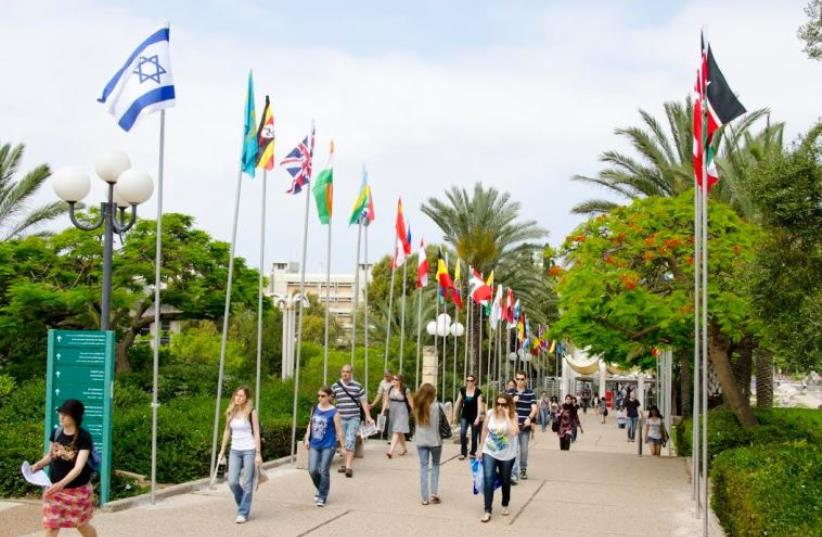 The campus of Tel Aviv University (photo credit: TEL AVIV UNIVERSITY)