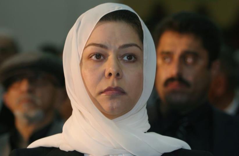 Raghad Saddam Hussein, daughter of the former Iraqi president Saddam Hussein (photo credit: REUTERS)