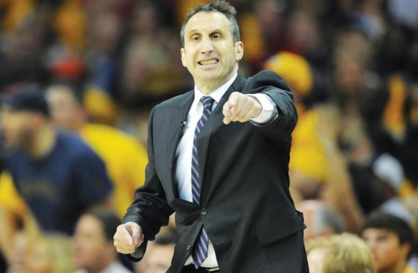 Former Cleveland Cavaliers head coach David Blatt (photo credit: REUTERS)