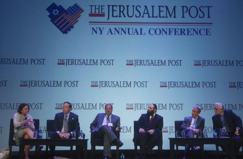 JPost Annual Conference BDS panel (photo credit: MARC ISRAEL SELLEM)