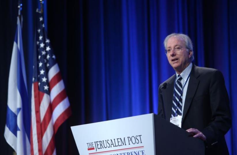 Dennis Ross at JPost Annual Conference (photo credit: MARC ISRAEL SELLEM)