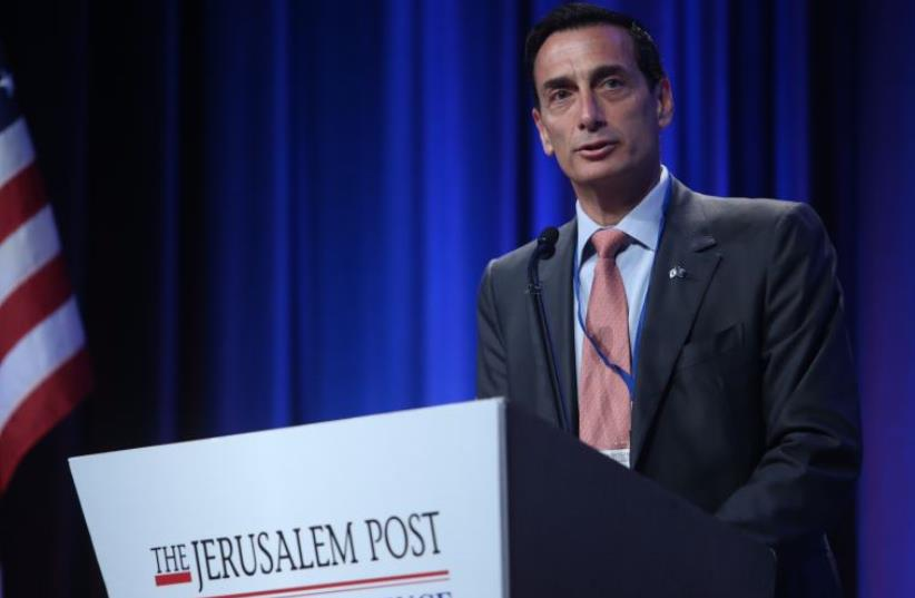 Matthew Bronfman at JPost Annual Conference (photo credit: MARC ISRAEL SELLEM)