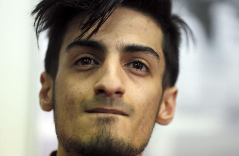 Mourad Laachraoui, Belgian Taekwondo athlete and brother of Najim Laachaoui, implicated in the Brussels bombing attacks, will compete in the 2016 Olympic games in Rio (photo credit: REUTERS)