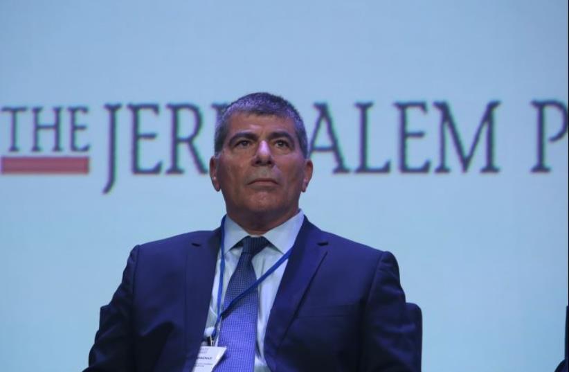 Gabi Ashkenazi at JPost Annual Conference  (photo credit: MARC ISRAEL SELLEM)