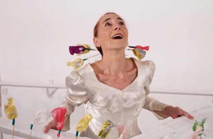 Dancer and choreographer Rina Sheinfeld (photo credit: GADI DAGON)