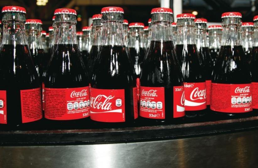 Coca Cola (photo credit: REUTERS)