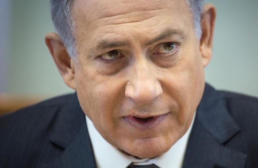 PM Netanyahu (photo credit: EMIL SALMAN/POOL)