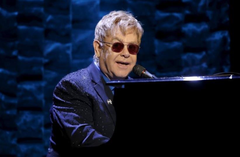 Elton John (photo credit: REUTERS)