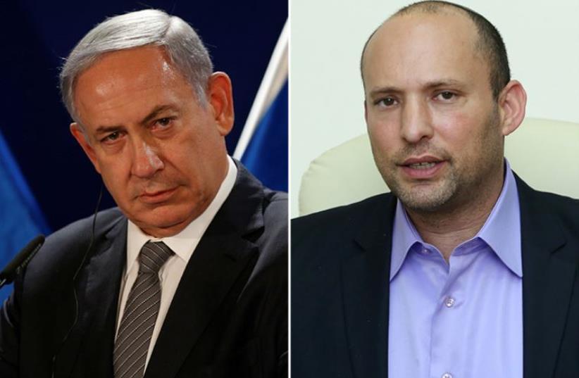 Netanyahu and Bennett (photo credit: REUTERS,MARC ISRAEL SELLEM)
