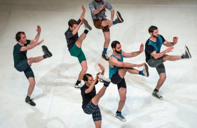 ITALIAN CHOREOGRAPHER Alessandro Sciarroni presents his latest dance piece, 'FOLK-s, will you still love me tomorrow?' (photo credit: ANDREA MACCHIA)