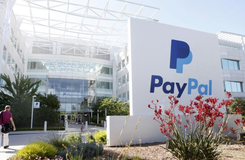 Paypal (photo credit: REUTERS)