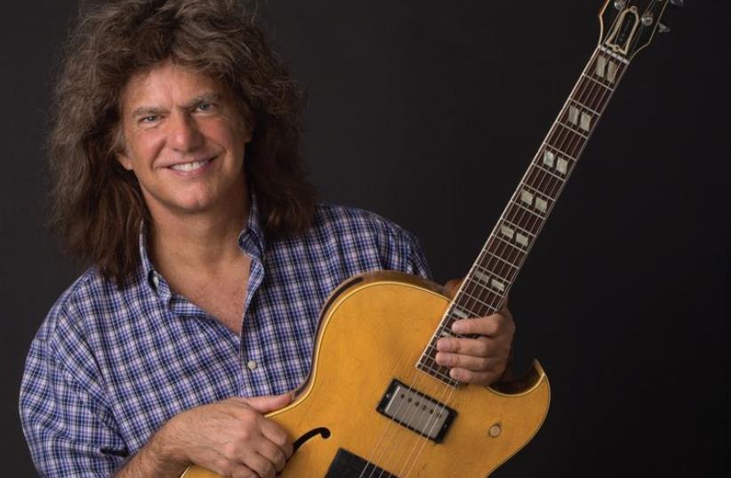 Jazz guitarist Pat Metheny (photo credit: JOHN PEDEN)