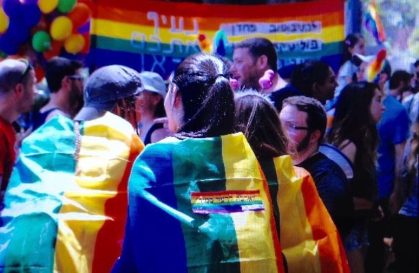 Tel Aviv Pride Parade 2016 (photo credit: AVSHALOM SHOSHANI)