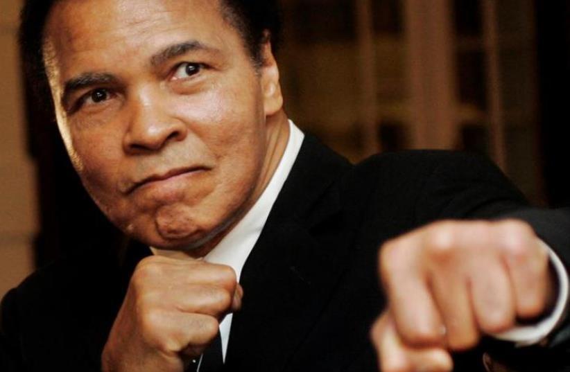 Muhammad Ali (photo credit: REUTERS)