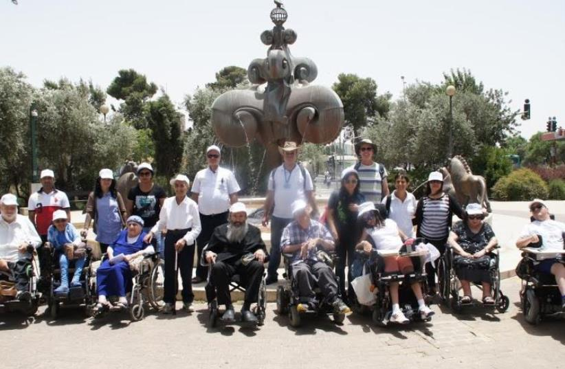 Yad Sarah lends a hand on Jerusalem Day (photo credit: COURTESY YAD SARAH)